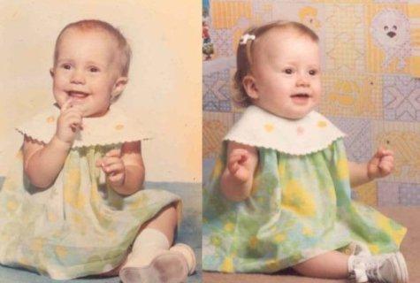 40 Foto di Bambini e Genitori che vi Faranno Vedere Doppio