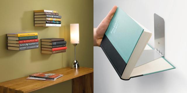 Troppi Libri in Casa? Ecco 60 Fantasiosi Modi per Sistemarli