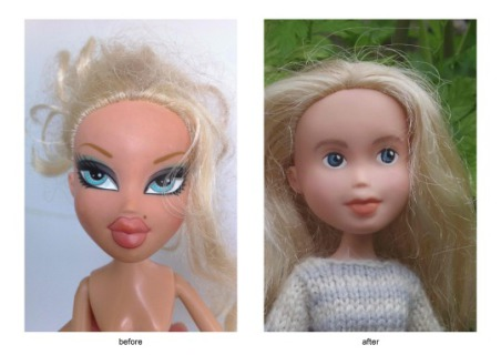 Tree Change Dolls: Le Barbie e le Bratz Senza Trucco