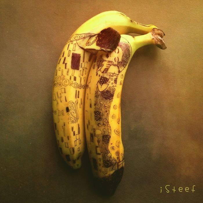 Come Creare Piccole Opere d'Arte con le Banane