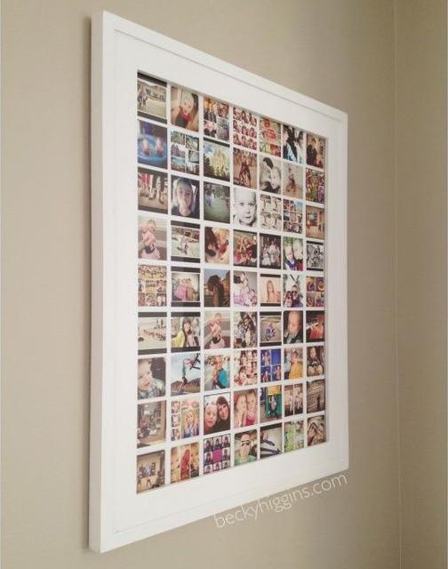 30 idee per decorare le pareti di casa con le tue foto