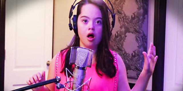 """Bambina Down Canta John Legend: """"Non esistono barriere per i Sogni!"""""""