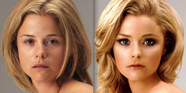 Non è necessario essere Belle: una Modella Prima e Dopo Photoshop