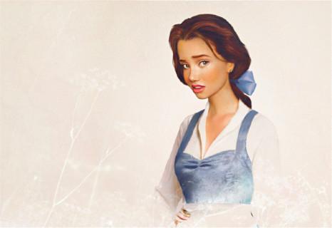 Le Principesse Disney Ritratte nella Vita Reale nei Disegni di Jirka Vince