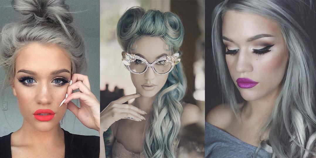 Capelli grigi come la nonna la nuova tendenza che sta conquistando tutte roba da donne - Bagno di colore grigio capelli ...