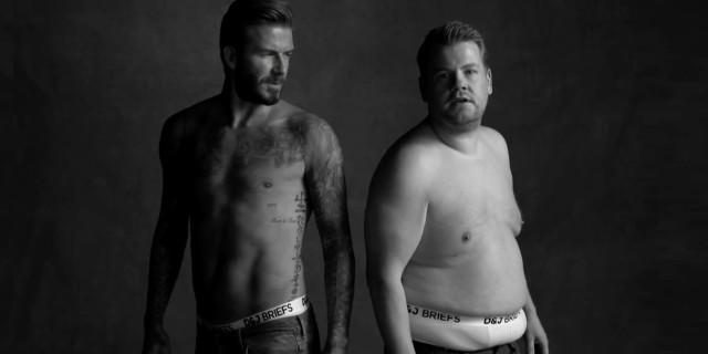 David Beckham vs. Uomo con la Pancia: la Parodia sull'Intimo Maschile