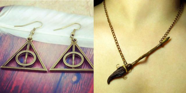 Gioielli Ispirati ad Harry Potter che Faranno Impazzire Tutte le Fan