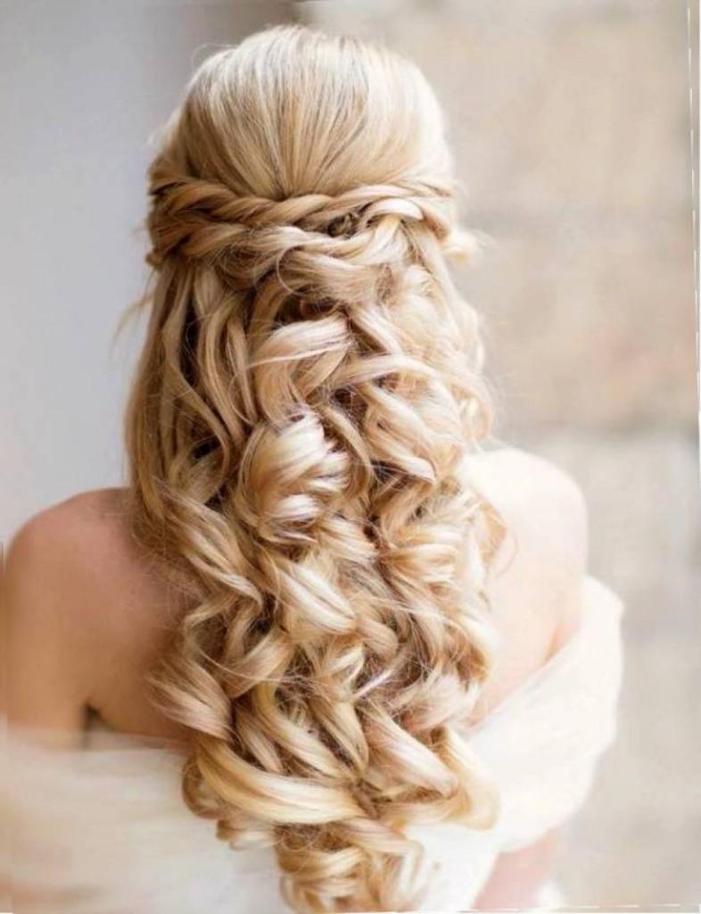 Molto Acconciature da sposa con capelli lunghi: 20 idee | Roba da Donne EQ74