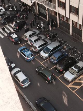 Sparatoia in Tribunale a Milano: Tutte le Foto