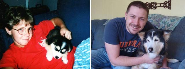 Piccoli Cani Crescono: le Foto Prima e Dopo di Questi Dolcissimi Cuccioli