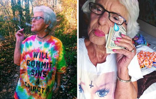 Ha 86 anni, Ama i Selfie ed la Nonnina più Seguita su Instagram