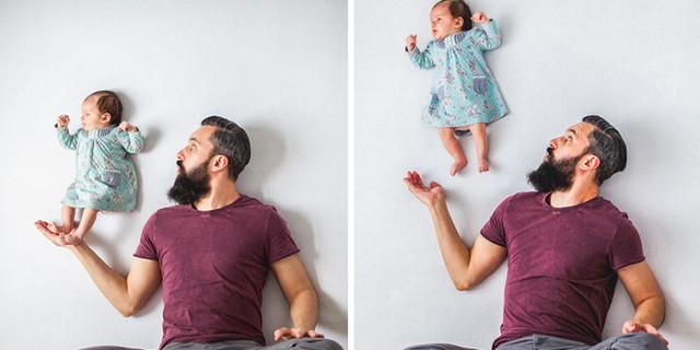 Un'Idea per le Mamme: Foto Originali Scattate Senza Photoshop (Vedere per Credere)