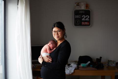 Mamma da 1 Giorno: gli Emozionanti Scatti di Donne Diventate Mamme
