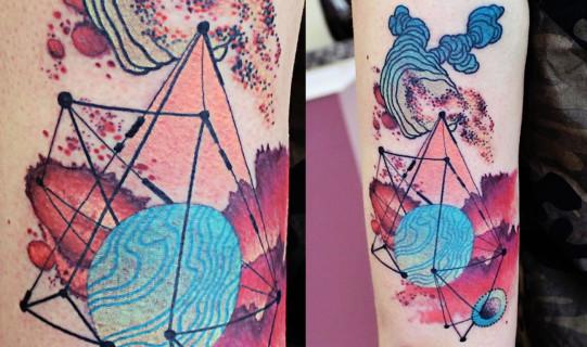 Tatuaggi Che Sembrano Acquarelli: Lasciati Ispirare