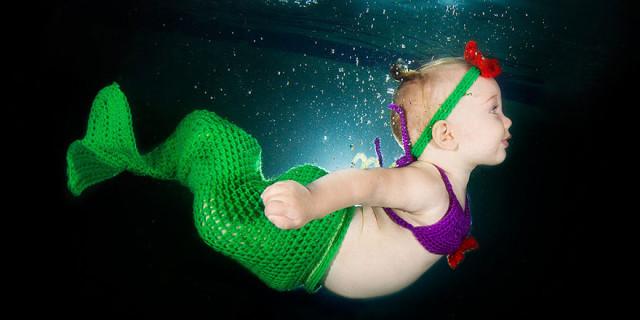 I Bambini Sott'Acqua, le Fotografie Che Dimostrano Quanto Amino Nuotare