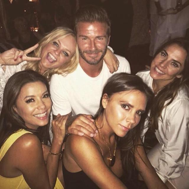 I 40 Anni di David Beckham: a Festeggiare con lui ci sono anche le Spice Girls!
