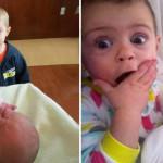 I Bambini che Incontrano per la Prima Volta il Nuovo Fratellino