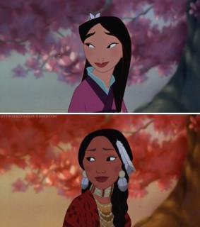 Le Principesse Disney Ridisegnate con un Etnia Diversa