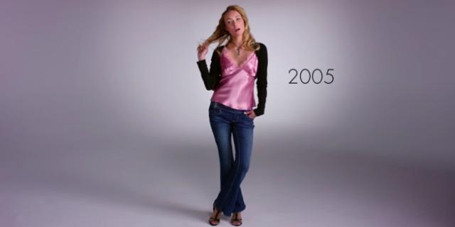 Com'è Cambiata la Moda dal 1915 ad Oggi? Ecco l'Evoluzione in Questo Timelapse
