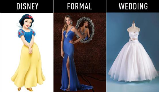 Gli Abiti Ispirati alle Principesse Disney per Ogni Momento della Vita