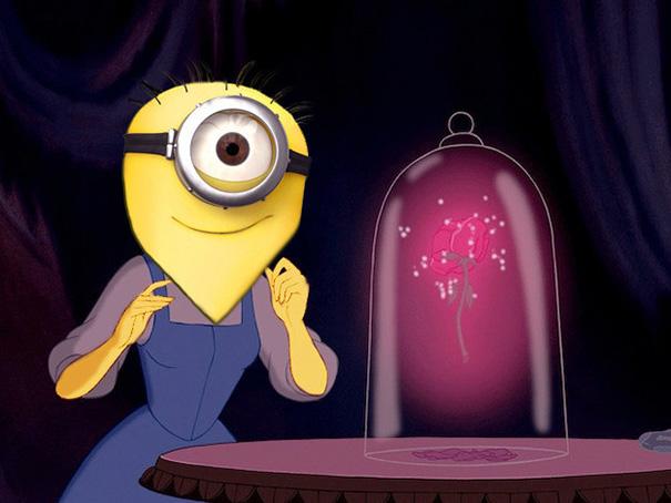 Le Principesse Disney si Tingono di Giallo e Diventano Minions