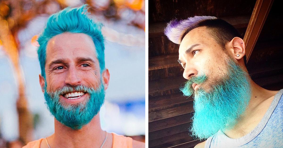Moda Uomini La Barba 232 Ancora Di Tendenza Ma Si Colora