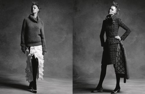 Eleganza e atmosfere punk per Chanel, Autunno Inverno 2015/2016