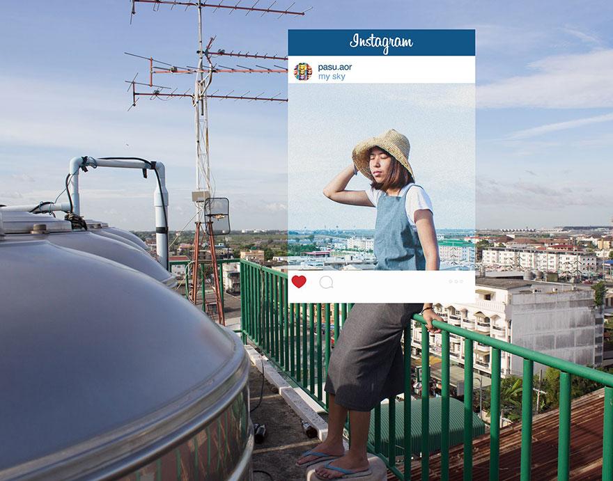 Ecco quello che si Nasconde dietro alle Foto Pubblicate su Instagram