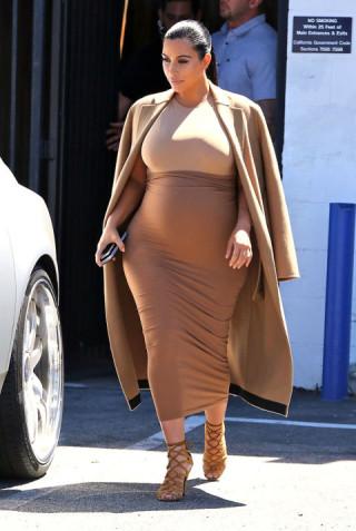 Look Premaman: 20 Idee da Rubare a Kim Kardashian (forse)