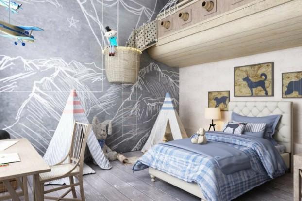 30 meravigliose camere per bambini roba da donne for Camerette dwg