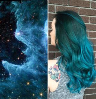 Capelli Fuori dal Mondo: ecco il Nuovo Trend delle Tinte Ispirate alle Galassie