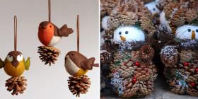 Decorazioni natalizie speciali di roba da donne - Decorazioni natalizie fatte a mano per bambini ...