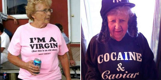 Questi 29 Anziani Non hanno Assolutamente Idea di quello che Indossano