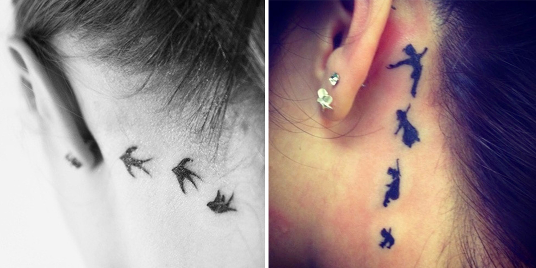 Significato del tatuaggio peter pan tatuaggio for Minimal significato