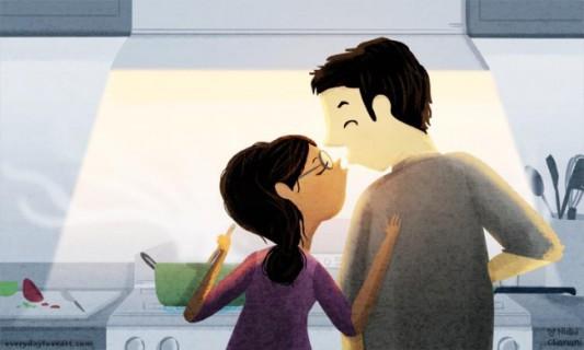 30 Straordinarie Immagini sull'Amore in cui Ogni Coppia si Rispecchierà