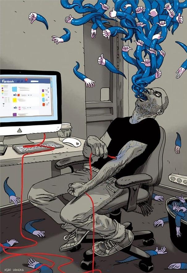 Queste 20 Immagini ti Faranno Capire Quanto Siamo Schiavi della Tecnologia