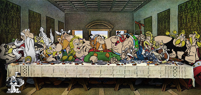 15 Opere d'Arte Famose Interpretate dai Personaggi dei Cartoni Animati!