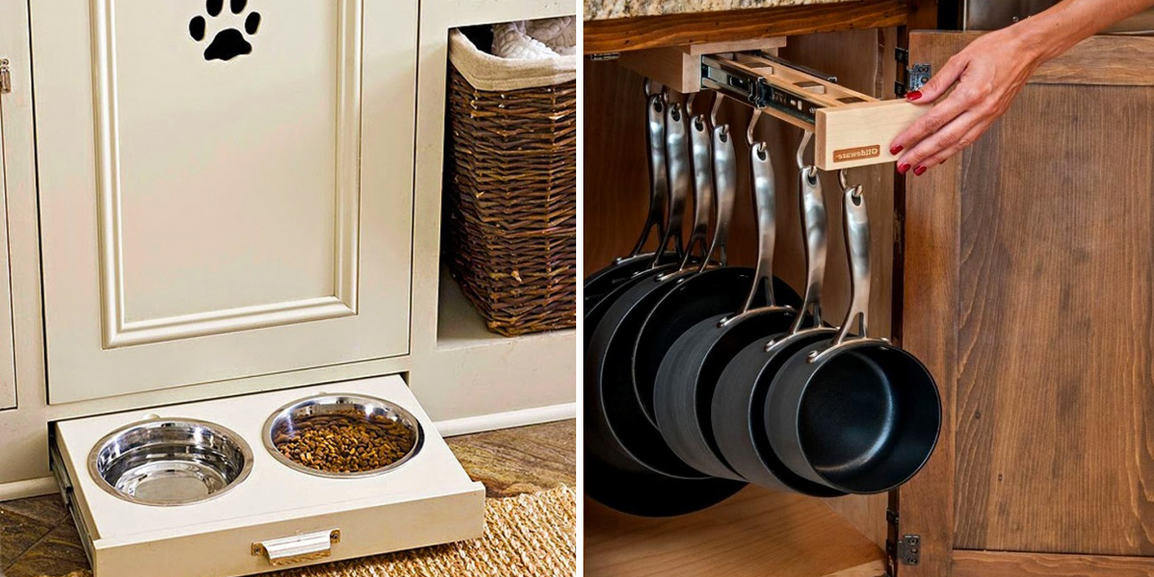 Mobili Per Cucina Piccola cucina piccola? 20 geniali idee salvaspazio per sfruttare
