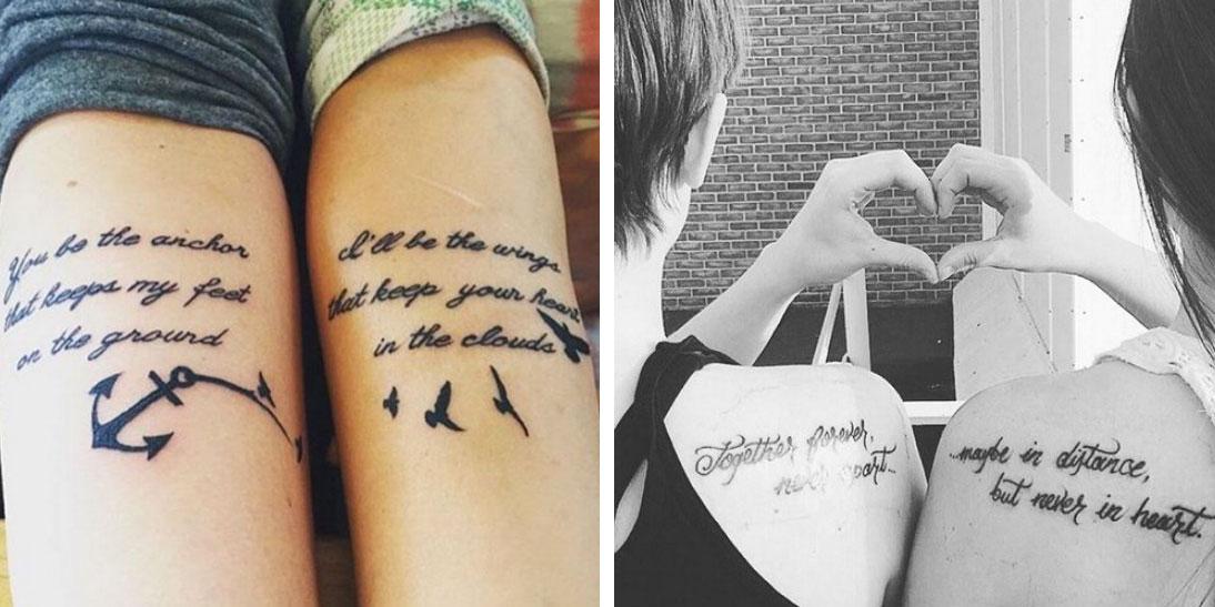 abbastanza 22 tatuaggi per sancire l'amore fraterno - Roba da Donne EJ66