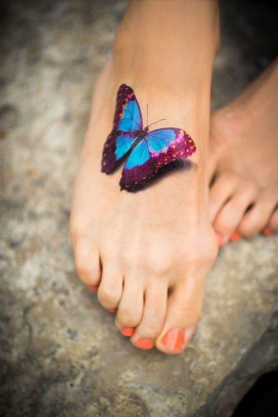 30 Idee per un Tatuaggio ai Piedi Sensuale di cui Non Pentirsi Mai!