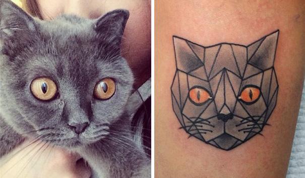 Solo per le Amanti dei Gatti: 25 Tatuaggi Ispirati ai Nostri Amici Felini!