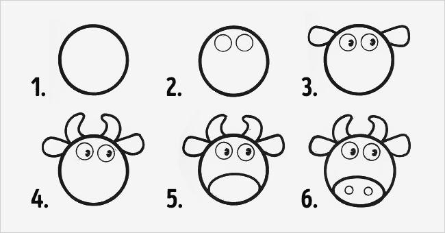Molto 10 Modi per Insegnare a Disegnare ai Tuoi Bambini Usando i Cerchi  EO42