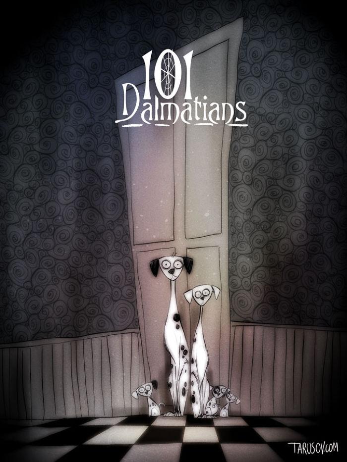 Cartoni da... Brivido! Ecco 10 Classici Disney Visti con gli Occhi di Tim Burton