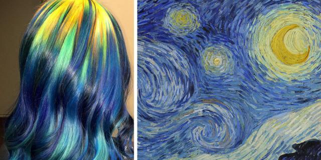 9 Colorazioni di Capelli Ispirate alle Opere d'Arte più Famose al Mondo!