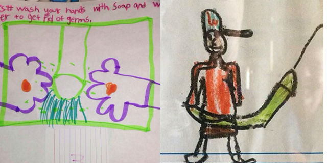 Questi 22 Bambini Non Hanno Idea di Quello che Hanno Disegnato!