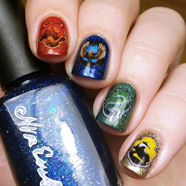 Pazze per Harry Potter? Ecco 20 Magiche Nail Art Ispirate al Famoso Maghetto