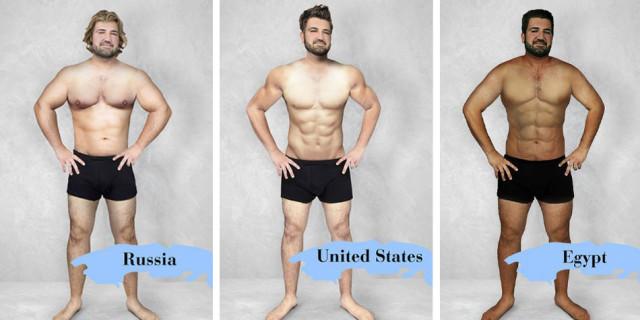 Canoni di Bellezza: Ecco l'Uomo Ideale in 16 Diversi Paesi del Mondo
