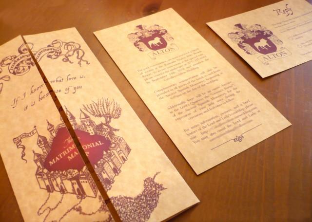 Idee per un Matrimonio a Tema Harry Potter: Magia e Romanticismo in un'Unica Pozione!