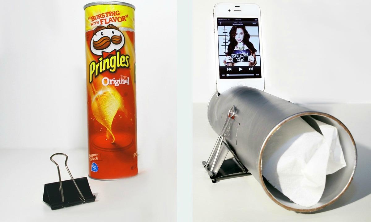22 Cose Geniali che Puoi Realizzare con un Tubo di Pringles