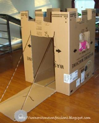 Costruire giochi fai da te con il cartone roba da donne - Costo costruire casa da zero ...